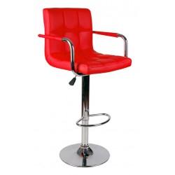 Barová židle HBD červená