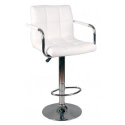 Barová židle HBD bílá