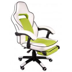 Kancelářská židle FBG bílý a zelený