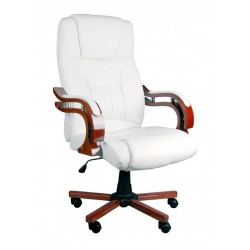 Kancelářské manažerské křeslo BSL002 bílá