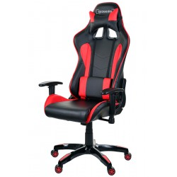 Racing PC Gaming Chefsessel GSA Schwarz/ Rot