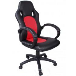 Kancelářská židle FBF černá a červená
