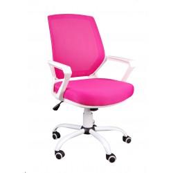 Kancelářská křesla FBB růžově bílá