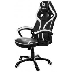 Kancelářská židle GP RACER černobílý
