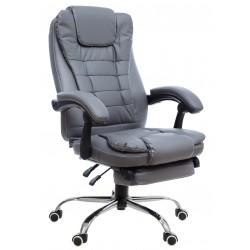 Fotel biurowy FBG biało-zielony