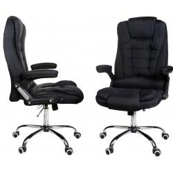 Kancelářská židle GIOSEDIO černá látka, model FBJ004