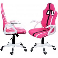 Kancelářská židle GP RACER černo-červená