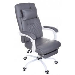 Fotel biurowy GIOSEDIO szary, model OCA011