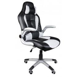 Kancelářská židle BST černobílý