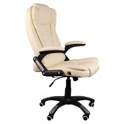 Fotel biurowy BRUNO beżowy